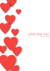 LOVE for you -RED-