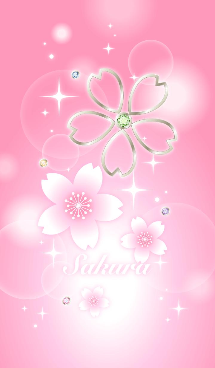 Fortune rising! Sakura pink