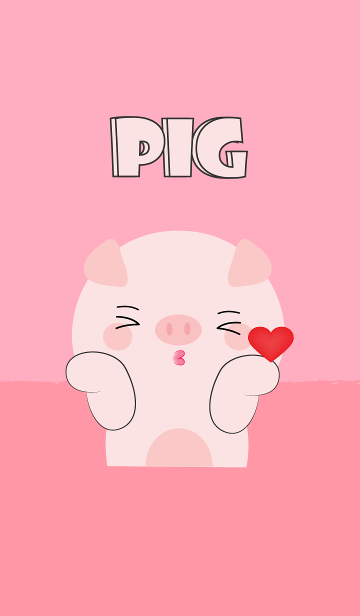 Love Love Cute Pig Theme (jp)