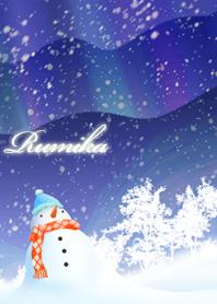 Rumika Snowman & Aurora