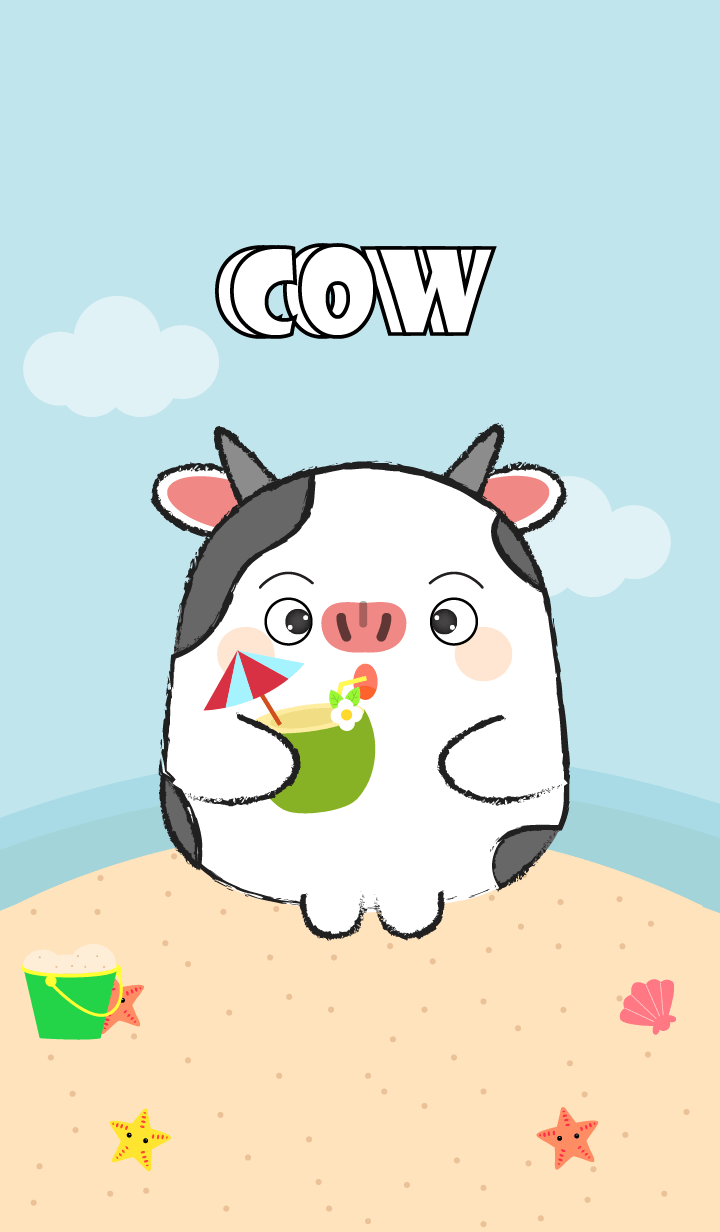 Summer Fat Cow theme