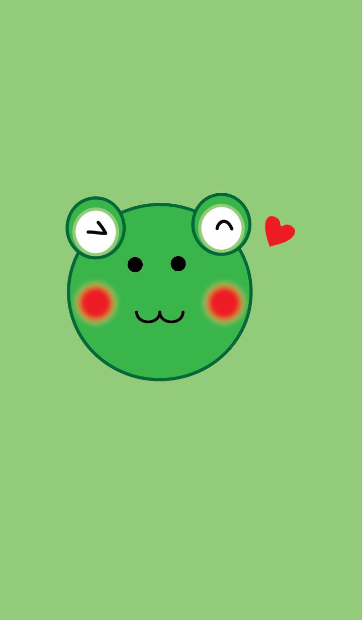 Simple Cute frog theme v.1 (JP)