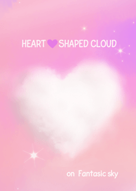 HEART SHAPED CLOUD ~fantasic sky