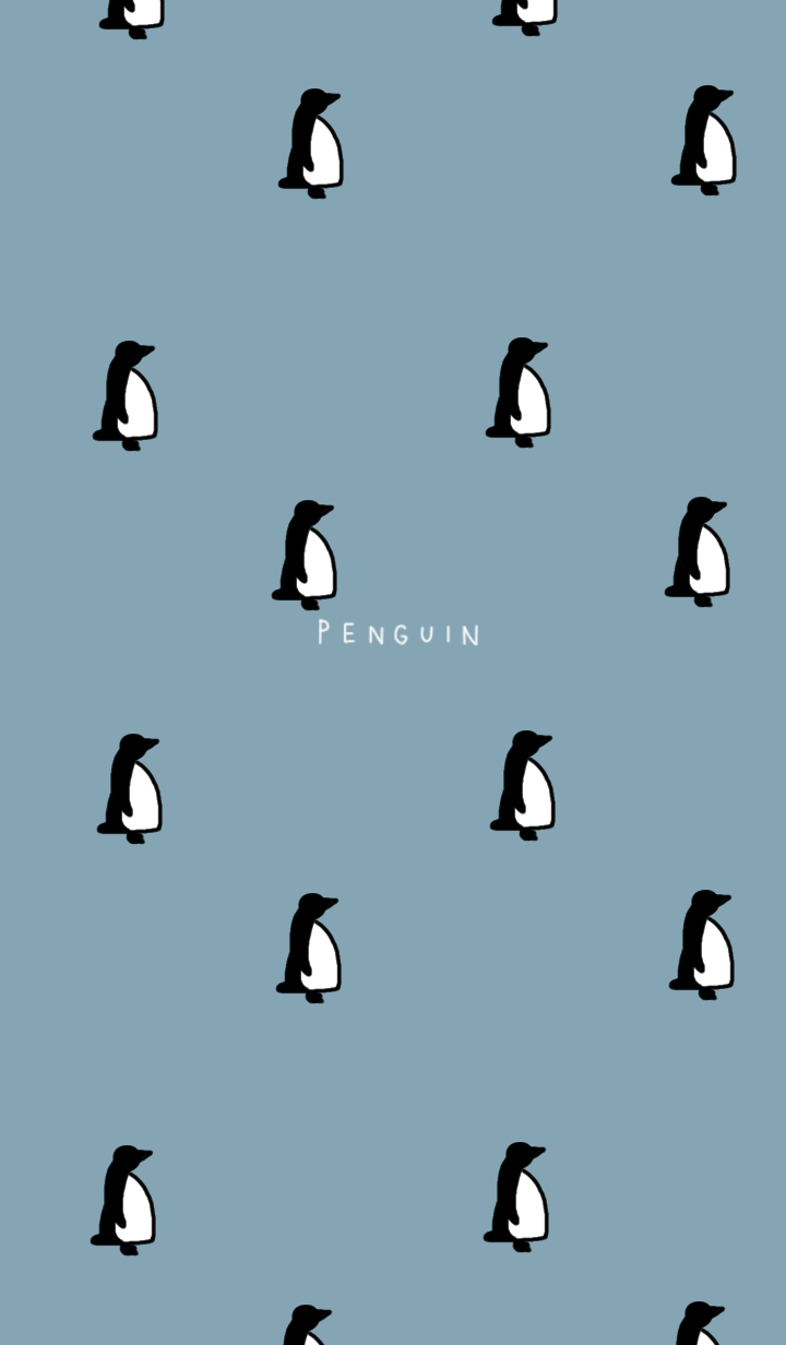 Full of penguins.