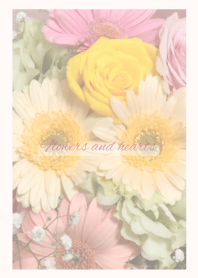 -Flowers and hearts- - 1 -
