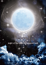 Light of the moon bring good luck