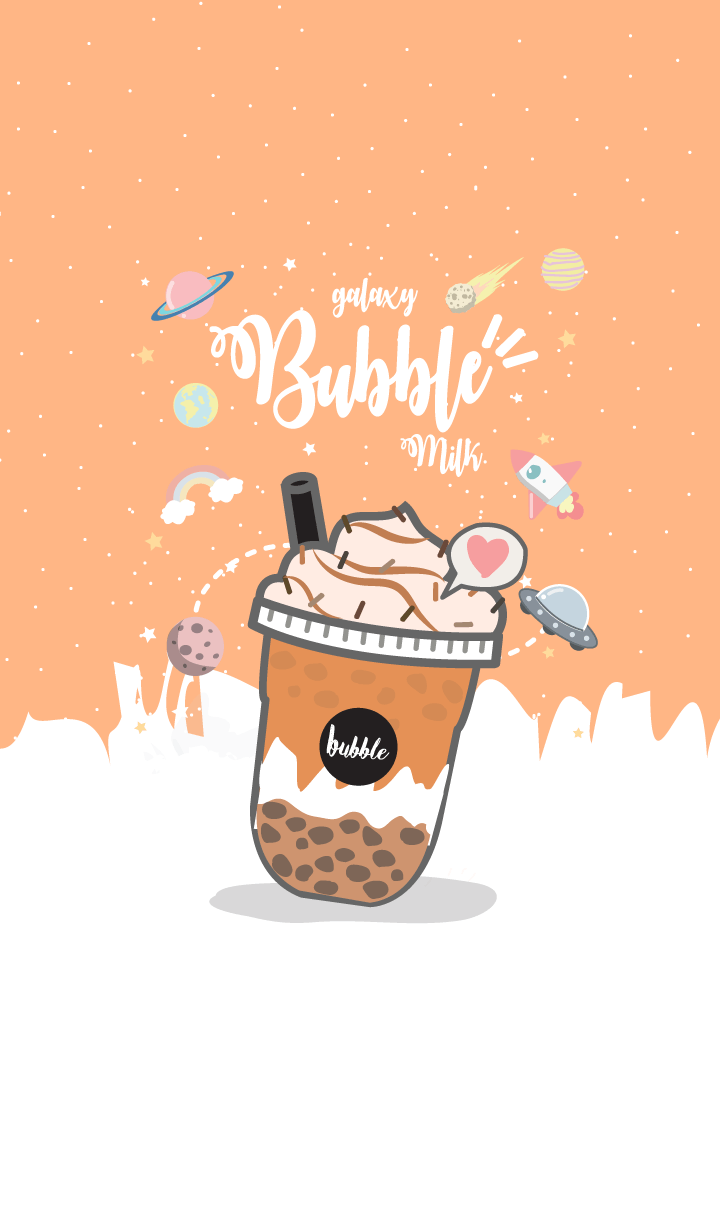 Bubble milk (galaxy iced tea ver.)