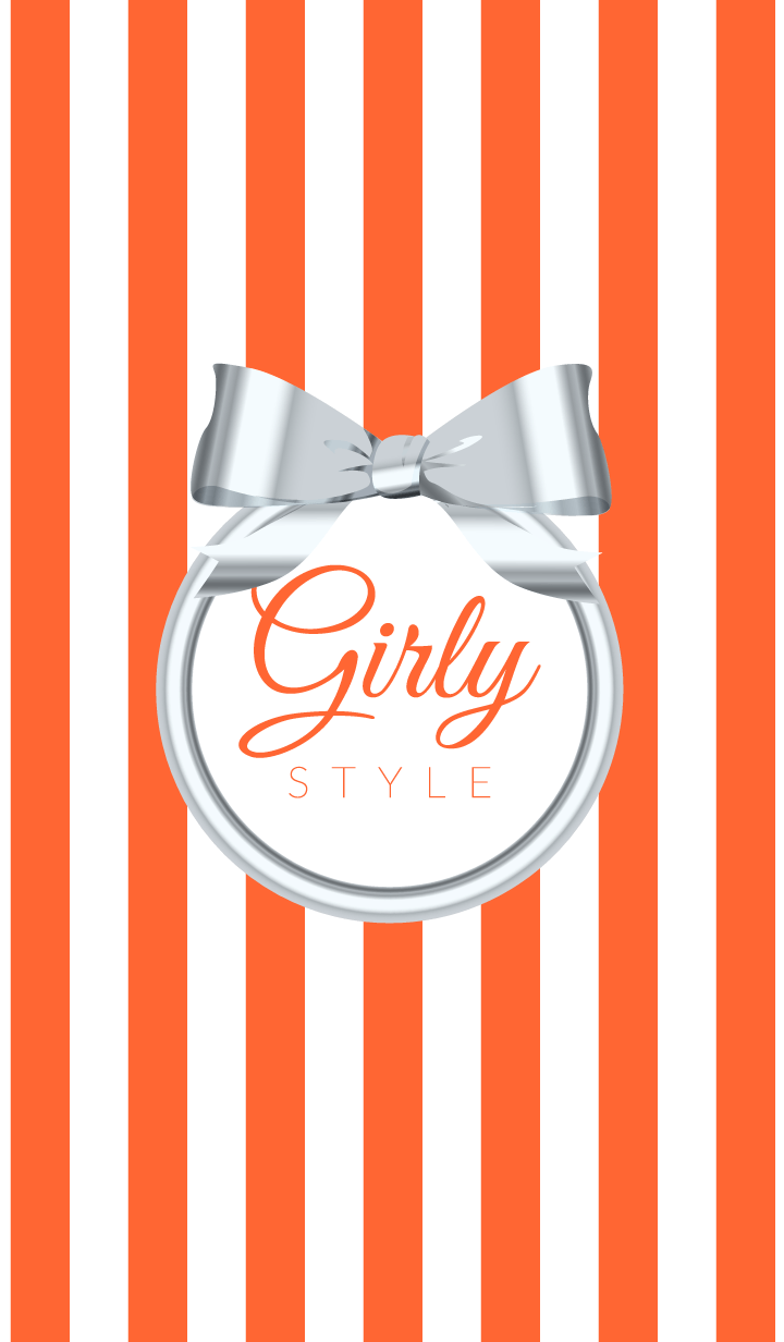Girly Style-SILVERStripes-ver.7