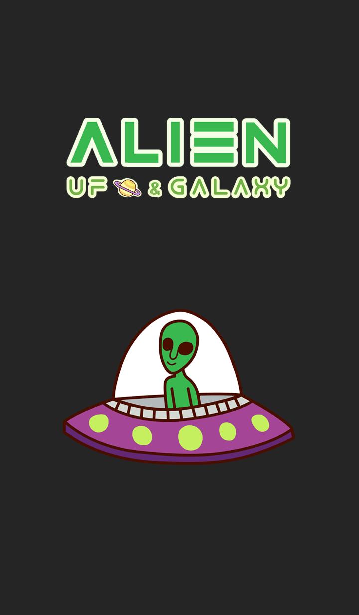 ALIEN U.F.O. & GALAXY