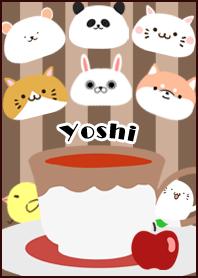 Yoshi Scandinavian mocha style