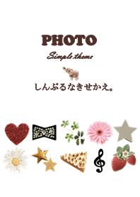 Simple photo theme