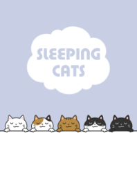 SLEEPING CATS...