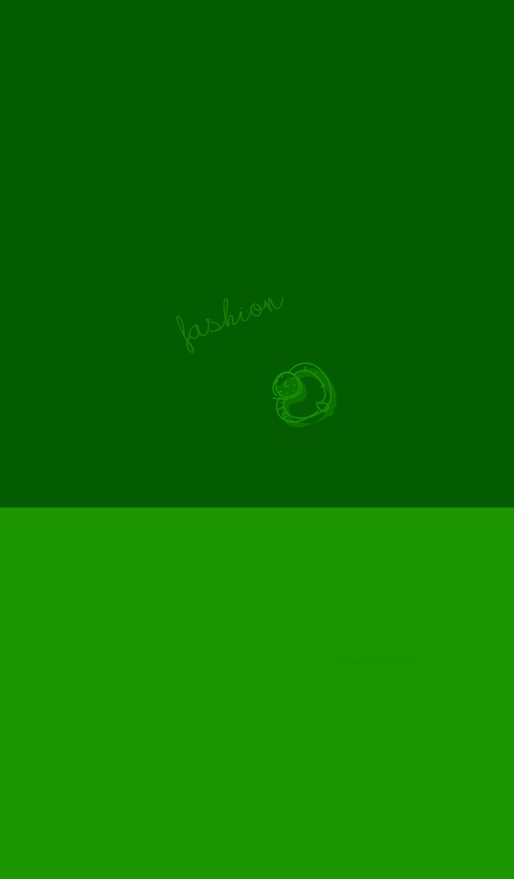 fashion green green