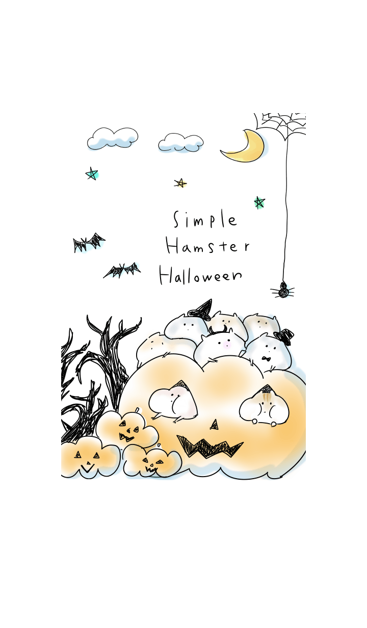 simple Hamster Halloween.