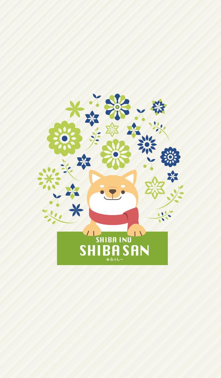 SHIBAINU SHIBASAN -navy green -