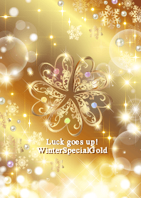 Luckgoesup! Gold5leafclover...