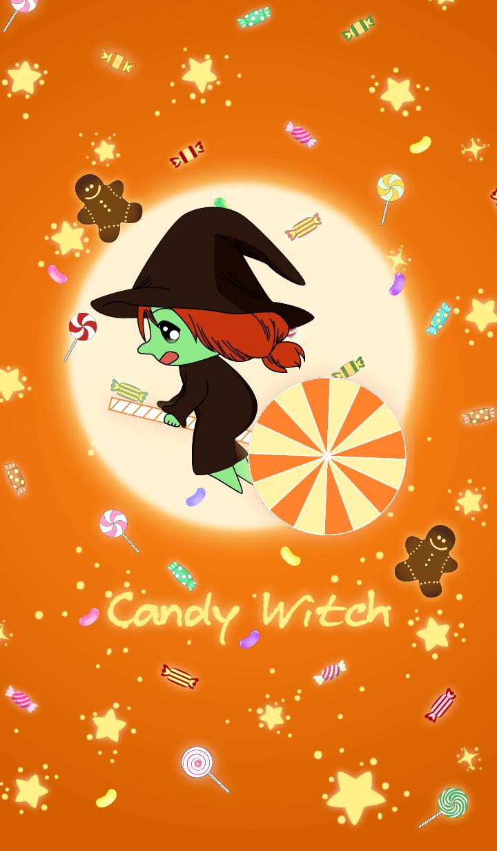 Candy witch (Chocolate Orange)