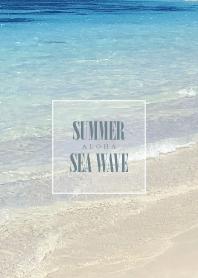 SUMMER BLUE SEA WAVE 38 -HAWAII-