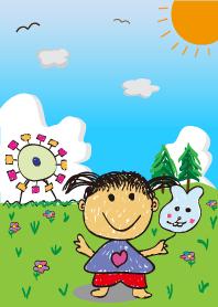 童趣風-可愛兒童畫2