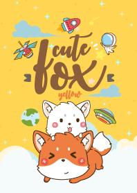 Fox Lovely Galaxy Yellow