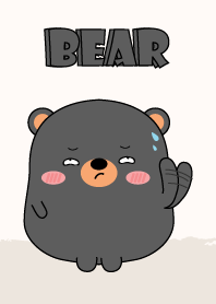 Emotions Fat Black Bear Theme