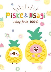 Piske和Usagi的多汁水果