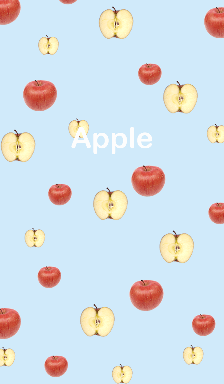 A lot of cute apples