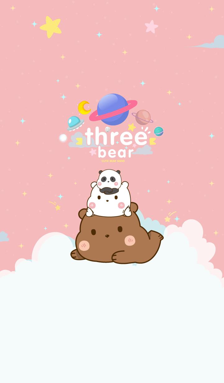 Bear Minimal Galaxy Love