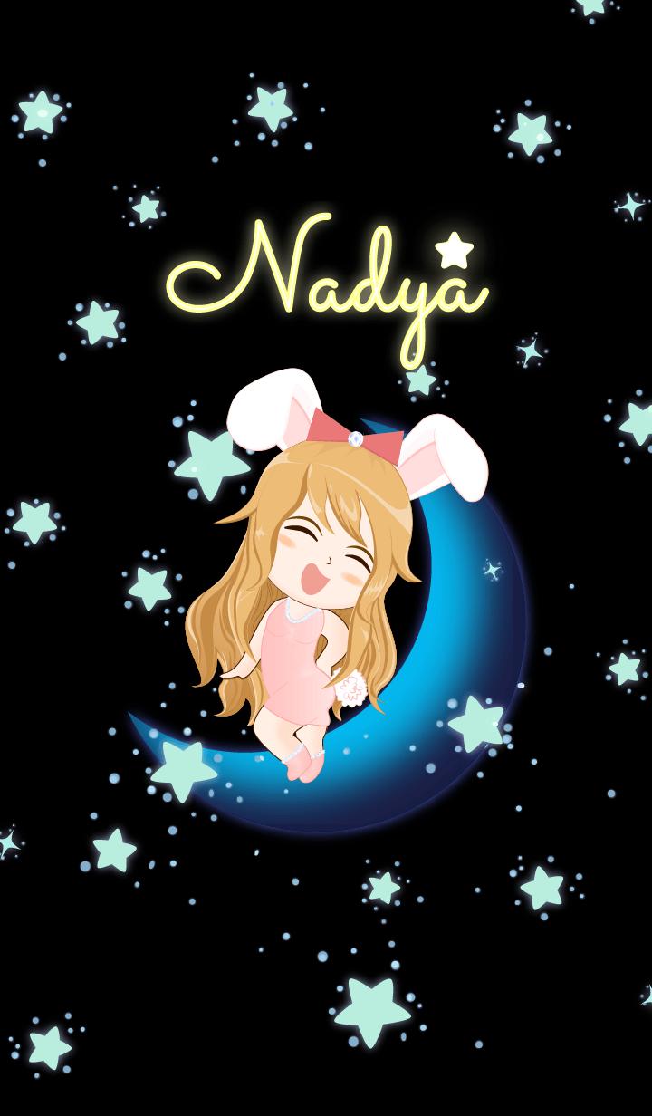 Nadya - Bunny girl on Blue Moon
