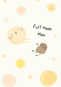月球先生白白的
