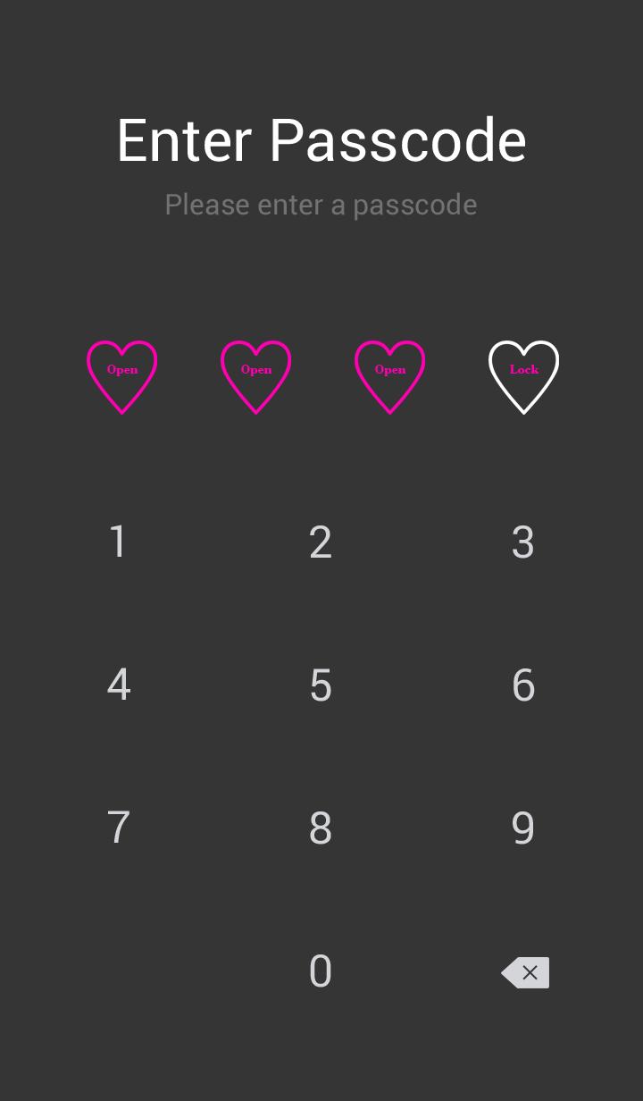 Simple Heart 9 Theme
