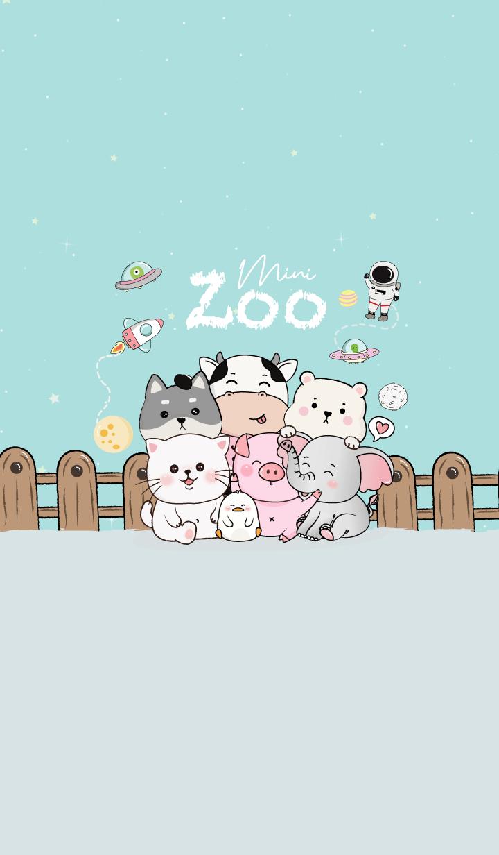 Mini Zoo Blue.