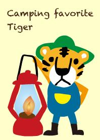 I love camping! Camp tiger!