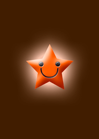 Simple star light Orange