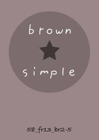 SIMPLE58 FR13 chocolat brown2-5