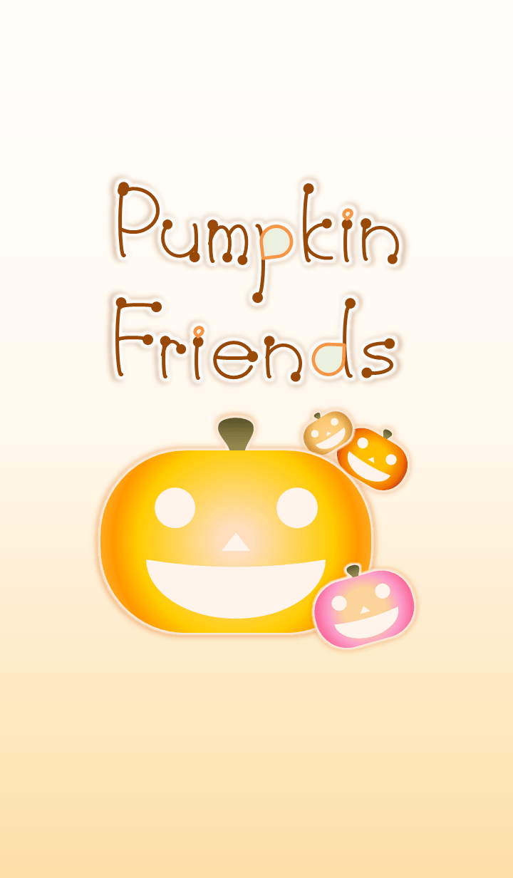 Pumpkin Friends (Brown Ver.4)