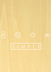 SIMPLE WOOD(white)Ver.2