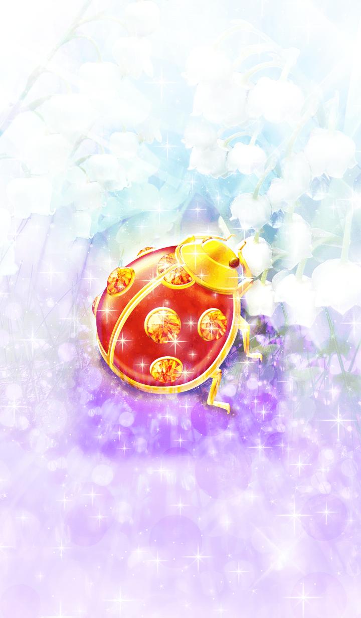 Lucky ladybird jewelry