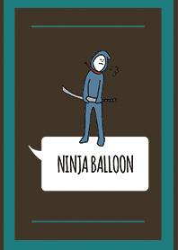 Brown Green : NINJA BALLOON 03
