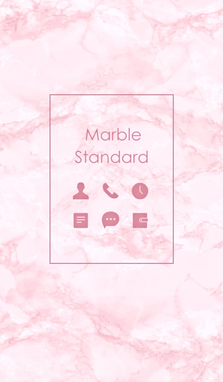 Marble Standard #Pink .