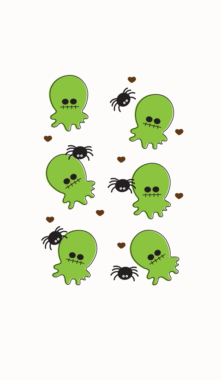 Cute little ghost theme 2