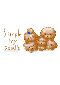 Simple Toy Poodle.