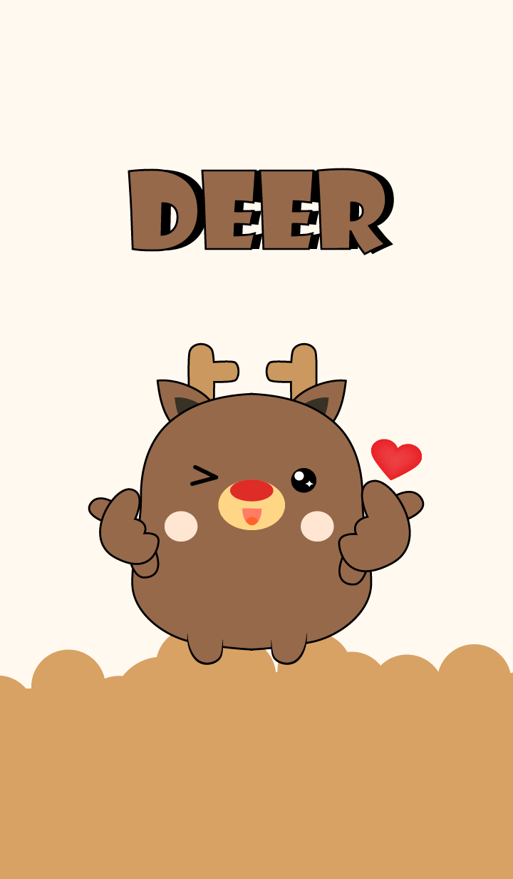 Emotion Love You Deer