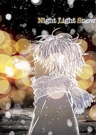 Night Light Snow