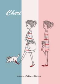 Cheri with Chignon -Hello-