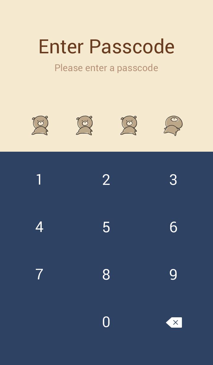 Beige Navy : Bear PONKOTSU 2