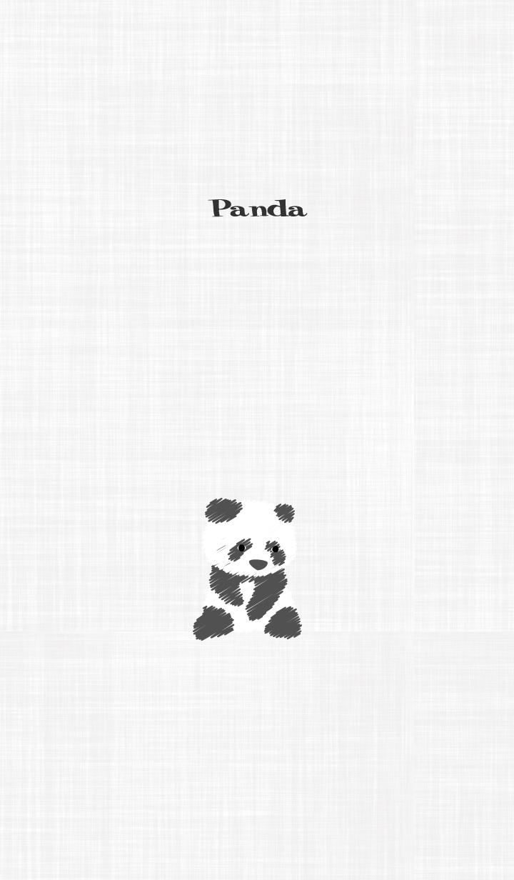 Panda theme -graffiti panda-