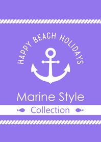 "Marine Style Collection 3 ""Light Purple"""