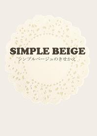 simple beige Rinko version