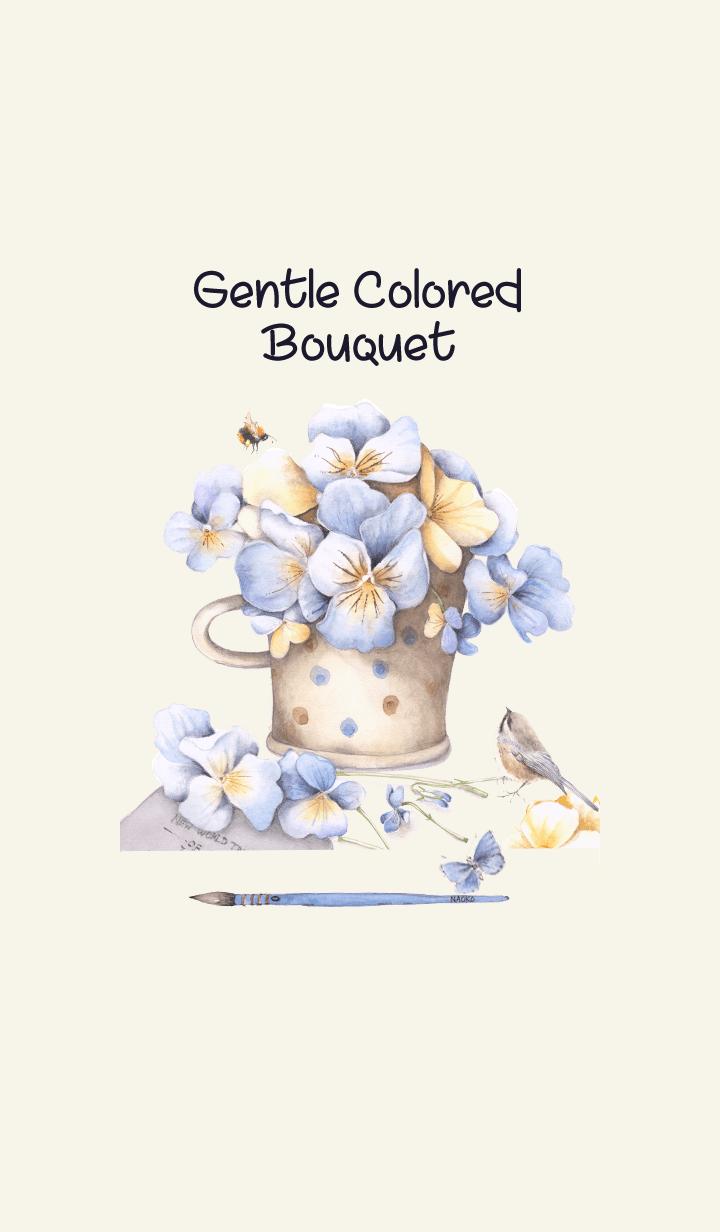 gentle colored bouquet 4